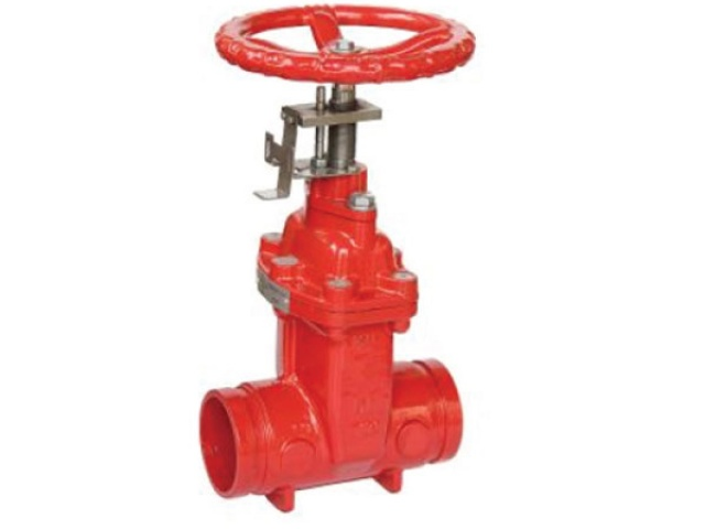 Non-Rising Stem (NRS) BS5163 Gate Valve – Grooved