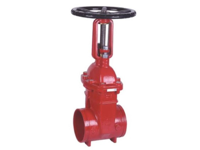 Outside Screw and Yoke (OS&Y) Gate Valve – Grooved