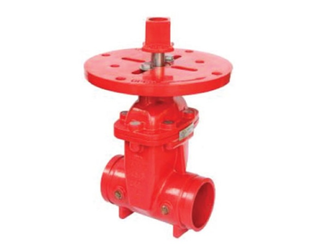 Post Indicator Valve – Grooved